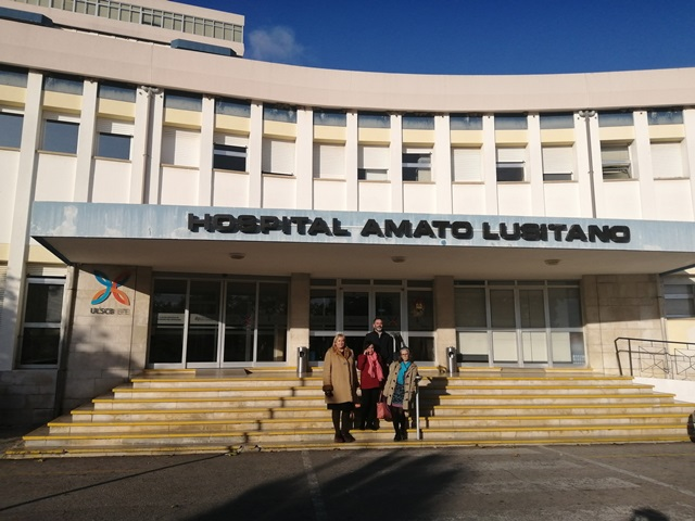 Visita do SMZC ao Hospital Amato Lusitano